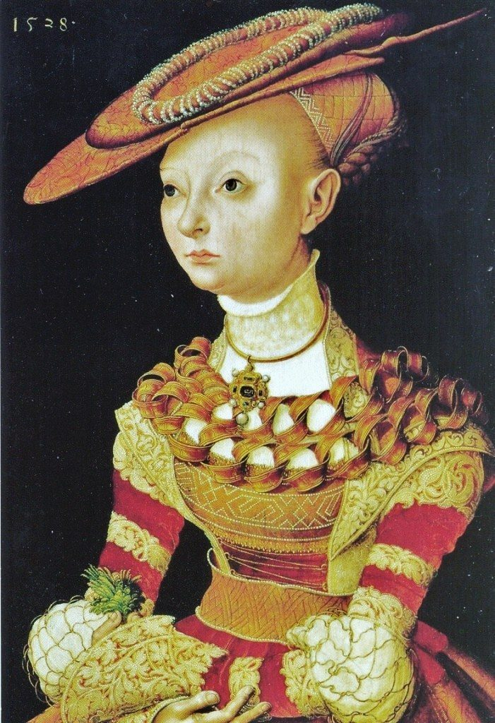16th Century: Portrait 1528 - Medieval Beads